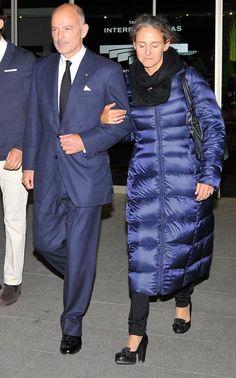 El príncipe Kubrat y su esposa, Carla Royo-Villanova