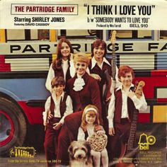 November 21, 1970 - The Partridge Family started a three week run at No.1 on the US singles chart with 'I Think I Love You'. The song was featured in the first episode of the Partridge Family TV series, made by the same company that made The Monkees. The only cast members of the television show to actually participate in the recording of the song were David Cassidy and Shirley Jones. •• #patridgefamily #thepartridgefamily #thisdayinmusic #1970s