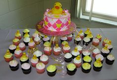 Baby Girl Rubber Ducky Baby Shower!