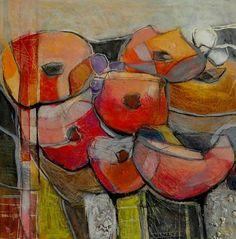 """Angela Fusenig, """"Harkelin"""" Mit einem Klick auf 'Als Kunstkarte versenden' versenden Sie kostenlos dieses Werk Ihren Freunden und Bekannten."""
