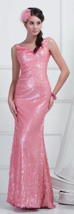 Sequin Full Length Dress from Zeleb London