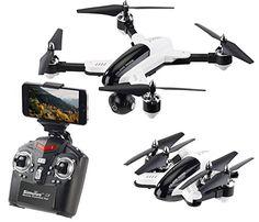 Simulus Drohne Faltbarer Fpv Quadrocopter M Hd Cam Wifi 2 4 Ghz Fernsteuerung App 4 Kanal Drohne Mit Kamera Live Videoubertra Drohnen Drohne Hubschrauber