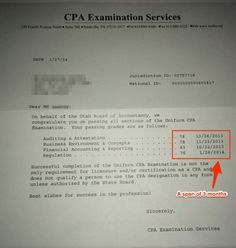 how to pass the cpa exam in 3 months