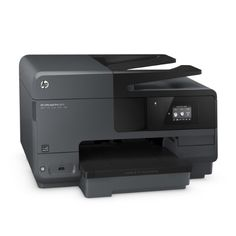 HP Officejet Pro 8610 Inkjet Multifunction Printer (A7F64A#B1H)  Professional color for less than lasers: Look professional with every page, using Original HP pigment inks for vibrant, durable prints. Set the pace for success with fast printing speeds—up to 19 ppm black-and-white and 14.5 ppm color. Attract new customers with borderless, double-sided marketing materials that help your business stand out.    Print on your terms: Enable secure wireless printing from your mobile device—..