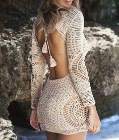 159 mentions J'aime, 11 commentaires - @atelier_izumrud sur Instagram : « Вязаное платье крючком❤ Им не аналогов в мире моды – стиль и практичность они сочетают с… »