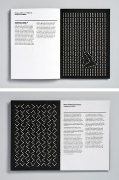 Magpie Studio – Mind and Movement, typographical design for Wayne McGregor's 'choreographic toolkit' Page Layout Design, Book Layout, Brochure Design, Branding Design, Corporate Branding, Logo Branding, Brand Identity, Editorial Layout, Editorial Design