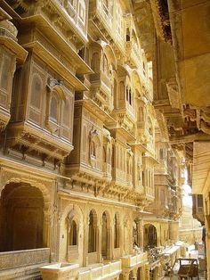 INDIA: Jaisalmer, the Golden City, Rajastan, India