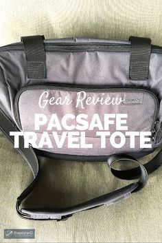 Travel Gear Review: Pacsafe Travel Tote, Plus Save 15% at TravelSmith | The TravelSmith Travel Advisors are a well-traveled group of experts including TV travel celebrity Samantha Brown, published authors Lynne and Tim Martin and award-winning travel show host Christine van Blockland. | The Planet D: Canada's Adventure Travel Couple:
