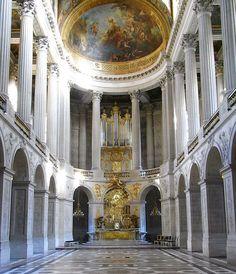 Greater Paris, Versailles Grand Parc, Chapelle royale, Palace of Versailles