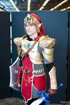 Link, The Legend of Zelda, from the Japan Expo 2013.