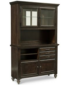 Baker Street Dining Furniture, 2-Piece China Cabinet