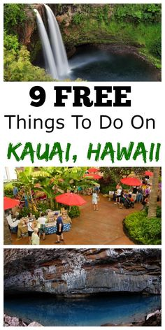 I love Kauai, Hawaii. I also love free stufff.especially in Hawaii! Here are 9 FREE things to do on Kauai, Hawaii. Hawaii Travel Tips. Eat, See, and Do on Kauai. Have a blast! Kauai Vacation, Hawaii Honeymoon, Vacation Destinations, Vacation Trips, Dream Vacations, Holiday Destinations, Vacation Spots, Hawaii Resorts, Vacation Deals