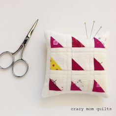 Like I mentioned last week, I've decided to revisit my one-a-day pincushion challenge. My goal is to make a pincushion a day for the month o...