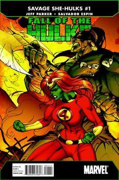 Marvel Falls of the Hulks Savage She-Hulks #1