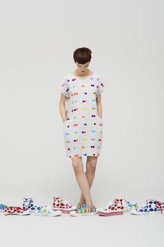 Marimekko Spring / Summer 2013 - want the shoes Cozy Fashion, Spring Fashion, Fashion Beauty, Fashion Outfits, Womens Fashion, Summer Outfits, Summer Dresses, Fashion Prints, Fashion Design