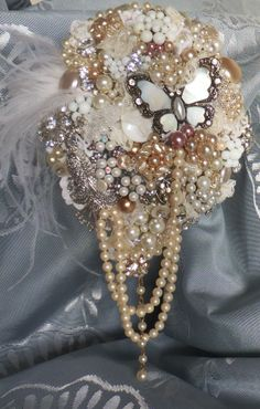 Design by DJ Bouquets... ♥ Presenting 'The Gatsby' Bouquet