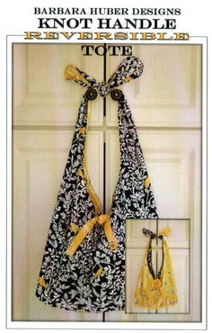 Knot Handle Reversible Tote Pattern