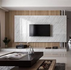 Good Housekeeping Mantra: 30 TV Wall Units To Organize And Stylize Your Home Apartment Interior, Living Room Interior, Home Living Room, Living Room Decor, Tv Feature Wall, Living Room Tv Unit Designs, Tv Wall Decor, Interior Modern, Interior Design