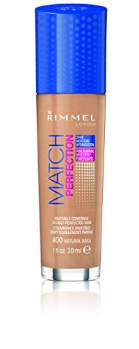 Rimmel Match Perfection Foundation Natural Beige 101 Fluid Ounce ** Click on the image for additional details.