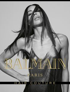 Ines Rau for Balmain Hair Couture FW17 Campaign. Hair by Creative Director, Nabil Harlow.