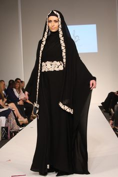 Abaya - The abaya comes from the Arabian Peninsula. It covers the hair and veils the face. Some people think of it as a religious act, but its primarily used for protection. Many upper class women wore abayas to hide from male glances.