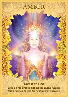 Crystals Angels cards by Doreen Virtue.