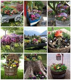 Itt a tavasz, egyre több időt töltünk kertünk szépítgetésével.A mai bejegyzésben olyan kertes ötleteket gyűjtöttem csokorba, amelyek látványa vagy épp csak egy kis részlete megragadott, elindított bennem valamit. Virágpompa, kedves kis részletek, tökéletesre komponált terek, vagy pont a kusza, buja…