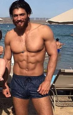 Shirtless Men, Turkish Men, Turkish Actors, Hunks Men, Hommes Sexy, Muscular Men, Scruffy Men, Male Body, Tanks