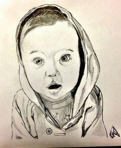 Baby Boy formato A4 lavoro a penna