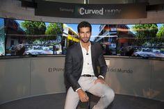 Samsung presenta el Curved UHD con Rubén Cortada