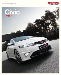 Honda Civic Mk8 Type R Belgium Accessory Brochure 2008