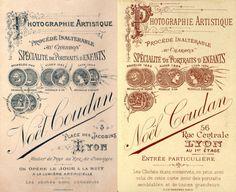 COUDAN Noël - Lyon, Rhône   Début Activité : 1869 - Successeur de Ernest BESSON