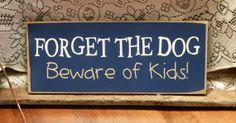 Beware of the kids!