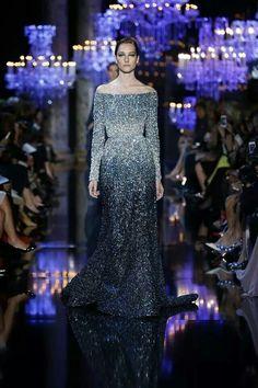 "ELIE SAAB Haute Couture fall/winter 2014-2015 collection ""palais des lumieres"""