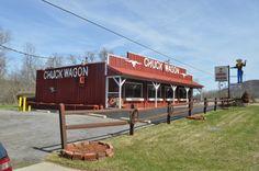 Chuck Wagon Restaurant in Olean, N.Y. Great food.