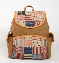 47.98$  Watch here - European and American Vintage casual shoulder bag travel bag Students schoolbag backpack 6003  #buyininternet