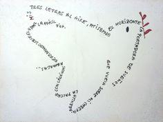 Recopilación de caligramas Word Express, Poesia Visual, Blackwork, Writing Art, Word Pictures, Text Quotes, Texts, Spanish, Typography