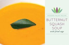-*+There's no disputing the fact thatbutternut squash makesone of the best soups. And thoughbutternut squashis great in everything from pies to pasta, I think it still shines best in soup. But just because this soup is a classic, it doesn't I want to eat fried sage