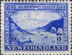 Newfoundland 1933 SG 243 Sir Humphrey Gilbert Fine Mint SG 243 Scott 219 Other British Commonwealth Empire and Colonial stamps Here