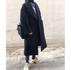 Korea Street Style, Duster Coat, Normcore, Jackets, Fashion, Down Jackets, Moda, Fashion Styles, Fashion Illustrations