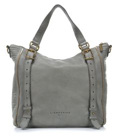 Luxury bags Elena Shopper Leder new flint 42 cm