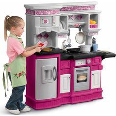 Little Tikes Gourmet Prep 'N Serve Kitchen, Pink