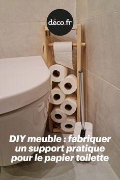 Vous êtes à la recherche d'un meuble minimaliste et décoratif pour votre coin toilettes ? Pas la peine de l'acheter, découvrez notre DIY dédié à la fabrication d'un meuble WC en bois ! Une solution économique, écologique et tendance...