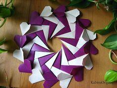 Come fare ghirlanda di cuori origami – VideoTutorial