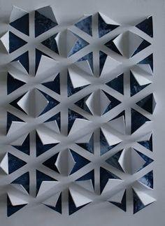 noflik nifelje: ijssterren( 42e van 365 dagen ) PAPIER SNIJDEN/ COLLAGE