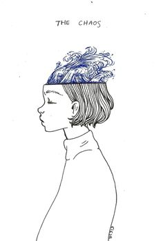 "ebriosity: - journal - ""the chaos / the calm""mind's // simple illustration drawing art artists ideas inspiration Art Inspo, Kunst Inspo, Art And Illustration, Illustrator, Esquivel, Art Graphique, Grafik Design, Art Design, Line Art"
