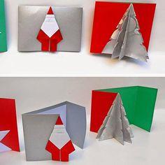 Cartes de vœux origami