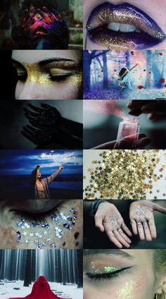 Glitter aesthetic
