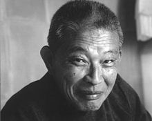 "This is Mako Iwamatsu, the voice of General Iroh for seasons one and two of AtLA. He died of cancer, which is why the episode ""Tales from Ba Sing Se"" is ""In Honor of Mako"". Greg Baldwin voiced Iroh in season three."