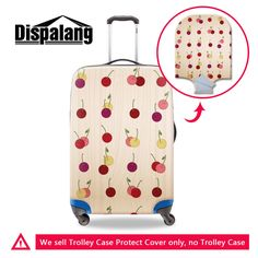 Autumn Maple Leaf Pumpkin Travel Luggage Protector Case Suitcase Protector For Man/&Woman Fits 18-32 Inch Luggage